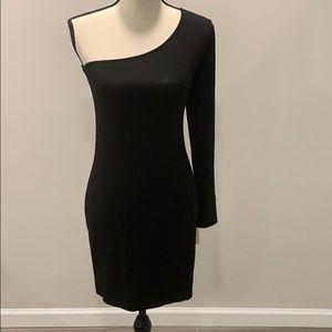 Torn by Ronny Kobo - One sleeve mini dress MEDIUM